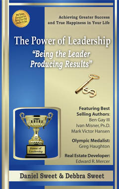 Power of Leadership Book Being the Leader Producing Results